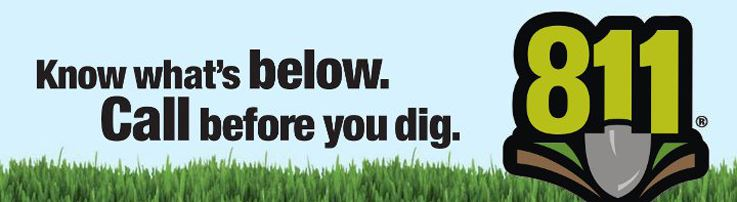 Know Whats Below - Call Before You Dig 811